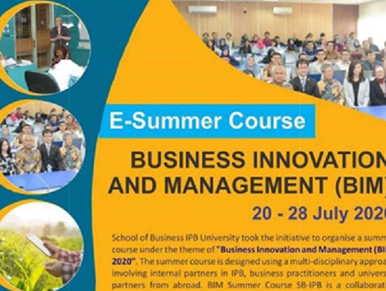 E-Summer Course Business Innovation and Management